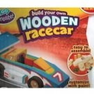 NEW Build Your Own Wooden Race Car Kids Crafts
