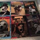 WISHBONE 6 Paperback Book Lot Adventures Mysteries Classics Children's Chapter