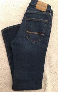 Abercrombie Kids Super Skinny Girls Jeans Size 16 Slim W/ Stretch FREE SHIPPING