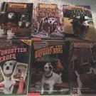 WISHBONE 6 Paperback Book Lot Adventures/Mysteries Children's Chapter Books