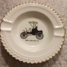 Harker Pottery Ashtray Winton Automobile 1898 antique car vintage mid century