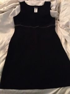 Disorderly Kids Black Sleeveless Dress Size 16 Stretch Free Shipping
