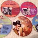 5 DVD TV Episodes/Movie Lot John Wayne Lone Ranger Beverly Hillbillies Dragnet