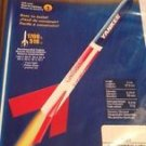 "ESTES ""YANKEE"" Level 1 EASY TO BUILD FLYING MODEL ROCKET KIT Red White & Blue"