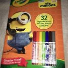 Crayola Color and Activity Pad Book MINIONS! Games Puzzles Mazes & More