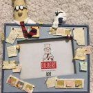 "DILBERT Picture Photo Frame for 3.5"" x 5"" Photograph Cute! Office Study Decor"