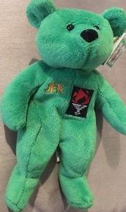 JFK Limited Editon Irish Pride Green John F Kennedy Beverly Hills Plush Retired