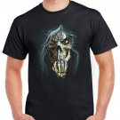 Heavy Metal Skull Skeleton F*ck You T-shirt Devil Cool Music Tshirt Festival Top Tee