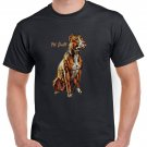 American Pit Bull Terrier (APBT) Brown Short Sleeve Gildan T-shirt Cool Men Tee