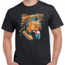 American Pit Bull Terrier Short Sleeve Gildan T-shirt Survival Of The Fittest