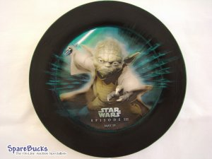 Star Wars Yoda Collectable Decoupage Plate Limited Edition