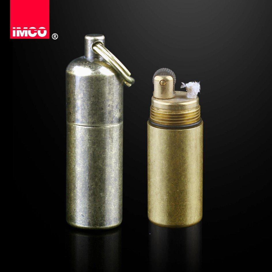 Original Austria lighter IMCO kerosene lighter 6100 Mini portable copper gasoline lighter BC18