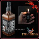 Firebird Mini Whiskey Bottle JB Style Pocket Smoking Pipe Cigar Cigarette With Normal Flame Men