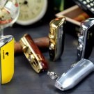 COHIBA Accessories Pocket Quality Metal Snake Mouth Shape Butane Gas Windproof 3 Torch Jet Flam
