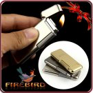 FIREBIRD 2013  Top DOLPHIN Grade Classic Cigarette Gas Butane  Fint Personality Lighter BC235