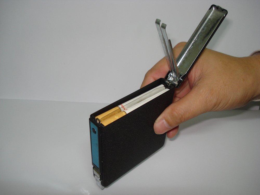 20 cigarettes Cigarette case  Lighter BC284