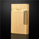 S.T.Dupont 100% Fashion Gold Silver Black Cigarette Lighters Windproof Lighter MetalGas Smoking
