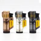 COHIBA Gadgets Portable Windproof Butane Gas 3 Flame Cigar Lighter Travel Cohiba Cigarette Ligh