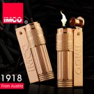 Genuine IMCO  original tau rose gold gasoline & kerosene & oil lighter. Can be put into