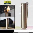 Spain CLIPPER Gasoline lighter,Vintage metal kerosene lighter flint grinding wheel Gift Box BC352