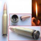 Large 5.75'' Machine Gun Bullet Cigar Lighter & Gas Refillable Butane Cigarette Lig