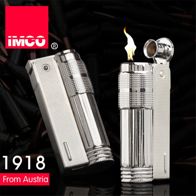 Original IMCO Lighter Old Gasoline Lighter Genuine Stainless Steel Cigarette Lighter Cigar Fire