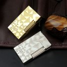 Luxury S.T Dupont Lighter Memorial Retro Trigle Pattern w/ Bright PING Sound Cigarette Drop Sh