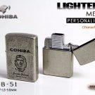 Original Che Guevara COHIBA Tool Pocket Size Gloss Yellow Metal Butane Gas Windproof 3 Torch Fl