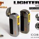Original COHIBA Tool Pocket Size High Gloss Yellow Metal bottle shape Butane Gas Windproof 3 To