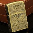 History of World War II gasoline & kerosene lighter Can be put into the cigarette case worl