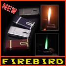 FIREBIRD Classic Metal Dual Flam Windproof Jet flame Butane Gas Cigar Cigarette Torch Lighter BC575