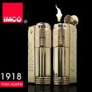 Genuine Austria IMCO brand steel Gasoline&oil lighter 6700,Golden cigarette lighter BC591