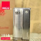 IMCO Metal gasoline / kerosene lighter,Silver cigarette briquet,Men birthday gift gadget BC629
