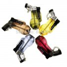 5pcs Novelty Translucent Wine Bottle Shaped Refillable Butane Gas Jet Torch Windproof Cigarette