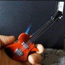 Creative mini guitar lighter Inflatable pocket cigarette lighter BC670