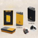 COHIBA  Fashion Metal 2 Torch JET FLAME CIGAR LIGHTER With 2 Pumch Cigarette Windproof Lighters