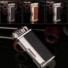 Honest Gentleman Retro style Pipe Tool Multi-function Flame Tobacco Pipe Lighter. Black, Brown,