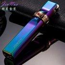 Novel Ultra-thin Metal Gas Lighter Jet Flame Cigarette Cigar Butane Torch Windproof  Refillable