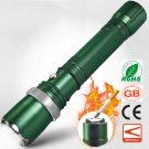 Field Tactical Waterproof LED Flashlight with Arc Cigarette Lighter and Zoomable Attack Head To