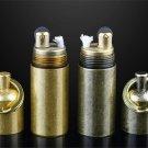 2pcs/lot Original Austria lighter IMCO kerosene lighter 6100 Mini portable copper gasoline ligh