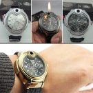 Fashion Men's casual Cool Gas Cigar Lighter Refillable Wristwatch Designed BC795