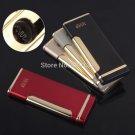 Tiger Brand Ultra Thin Windproof Refillable Butane Gas Cigarette Cigar Lighter BC820