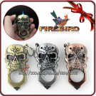 Firebird 3 Colors!! Cool Skull Style Pocket Metal Cigar Cigarette Butane Gas Jet Flame Lighter