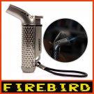 FIREBIRD HONEST Classic Cigarette Cigar Genuine Jet Flame Gas Butane Windproof Lighter BC863