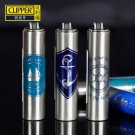 (2 pcs/lot) Mini CLIPPER metal gas lighter,Sailing patterns inflatable cigarette lighter BC895