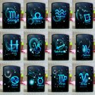 12 constellation kerosene lighters Creative men and women birthday gift Fashion Mini Pocket Cig