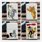 Cartoon cat and mouse kerosene lighter smoking mini pocket lighter BC932