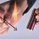 2016 fashion multifunction windproof flame cigar lighter butane gas cigarette ring light BC953