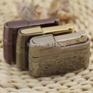 Honest Vintage Metal Cigar Lighter Metal Windproof Gas Tobacco Smoking Lighter BC1021