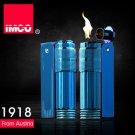 IMCO Brand Stainless steel oil lighter,Blue color cigarette lighter  BC1124